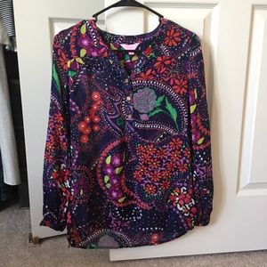LILLY Pulitzer rare floral providence top